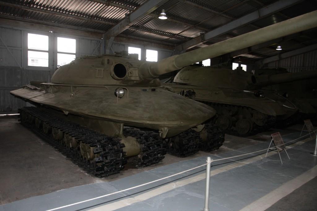 Obiekt 279 w Kubince - 2008 (fot. www.wikipedia.pl)