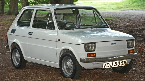 Fiat 126 z 1973 roku (fot. wikipedia.pl)