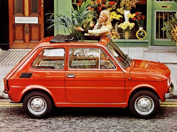 Fiat 126 - 1972 (fot. autowp.ru)
