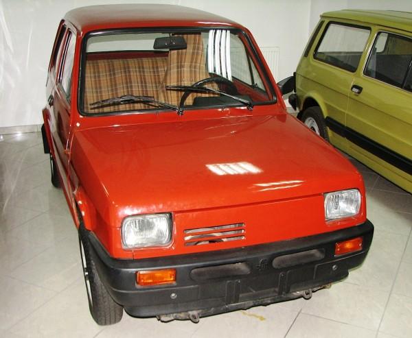 Fiat 126 z napędem przednim (fot. its.waw.pl)