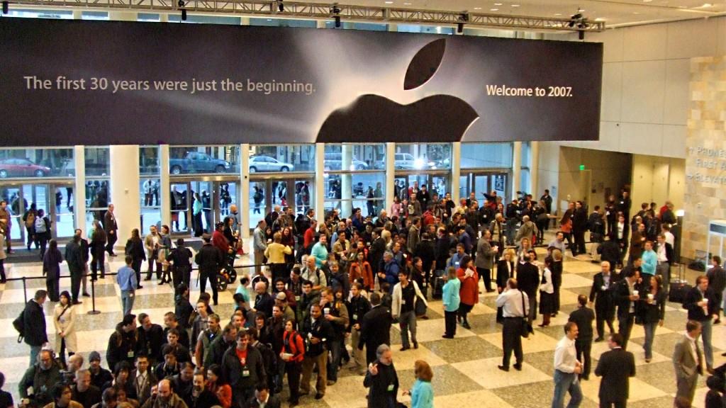 Konferencja MacWorld 2007 (fot. www.wikipedia.org)