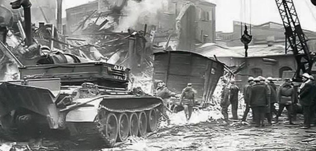 Eksplozja w Wielkopolskim Przedsiębiorstwie Przemysłu Ziemniaczanego w Luboniu (fot. Echo Lubonia)