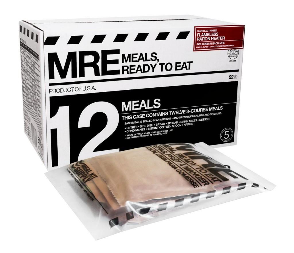 Amerykańska racja żywnościowa MRE (fot. www.survivalfood.com)