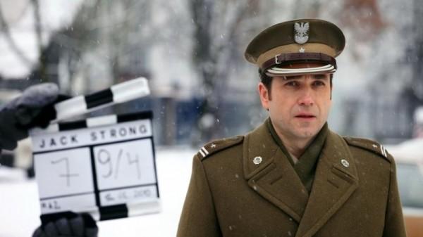 Marcin Dorociński (grający Ryszarda Kuklińskiego) w filmie Jack Strong