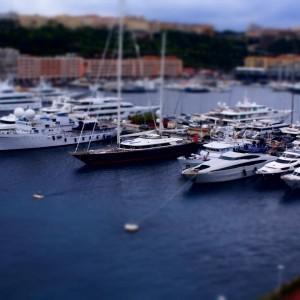 Port w Monako (fot. Michał Banach)