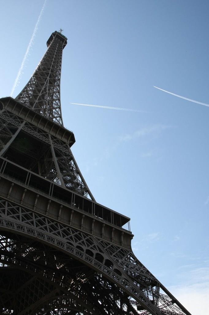 Wieża Eiffla (fot. zbiory autora)