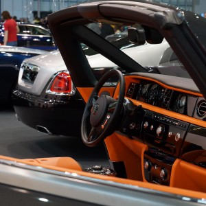 Wnętrze Rolls Royce-a (fot. Michał Banach)