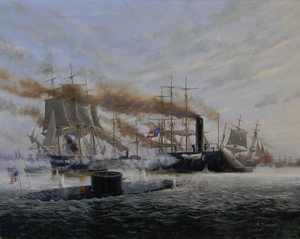 Bitwa w Zatoce Hampton Roads