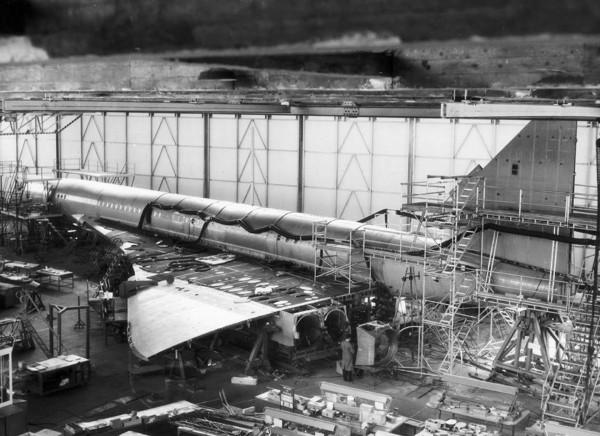 Concorde w trakcie budowy