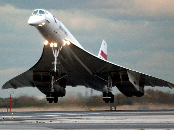 Concorde należący do British Airways