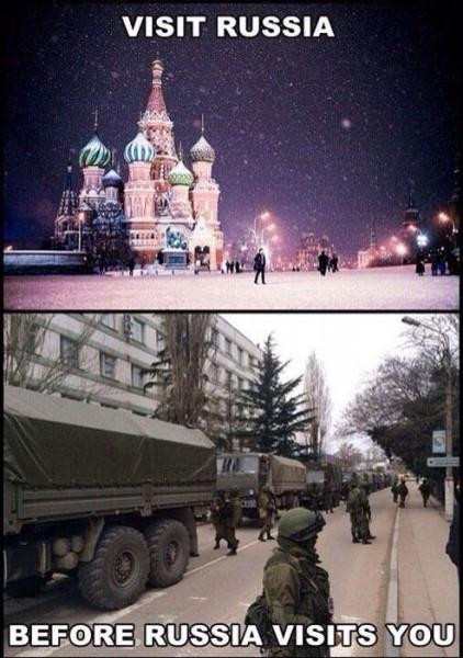 """""""Odwiedź Rosję zanim Rosja odwiedzi Ciebie"""""""