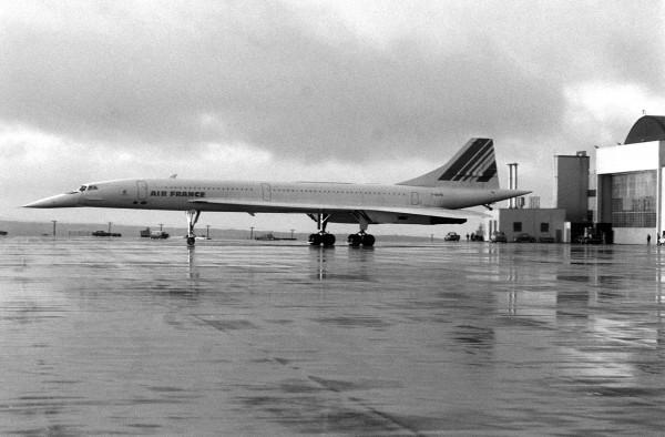 Concorde w 1977 roku