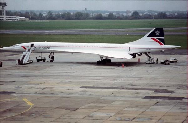Concorde w Warszawie