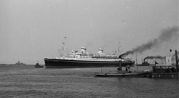 MS Batory w Gdyni - 4 maja 1947 roku
