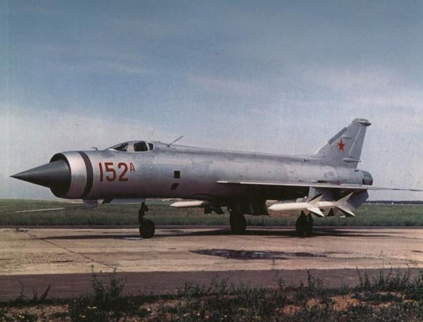 Radziecki Ye-152 (fot. Kev's Military Aviation Pics)