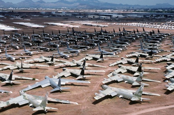 B-52 Stratofortress wycofane z eksploatacji