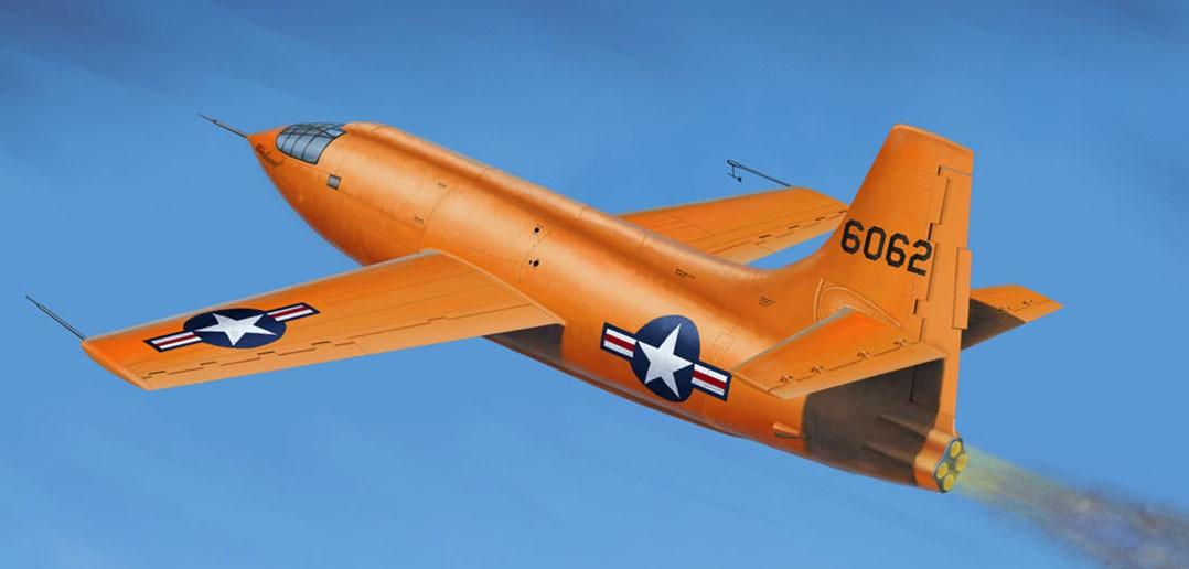 Bell X-1 (fot. Kevin Jongen)