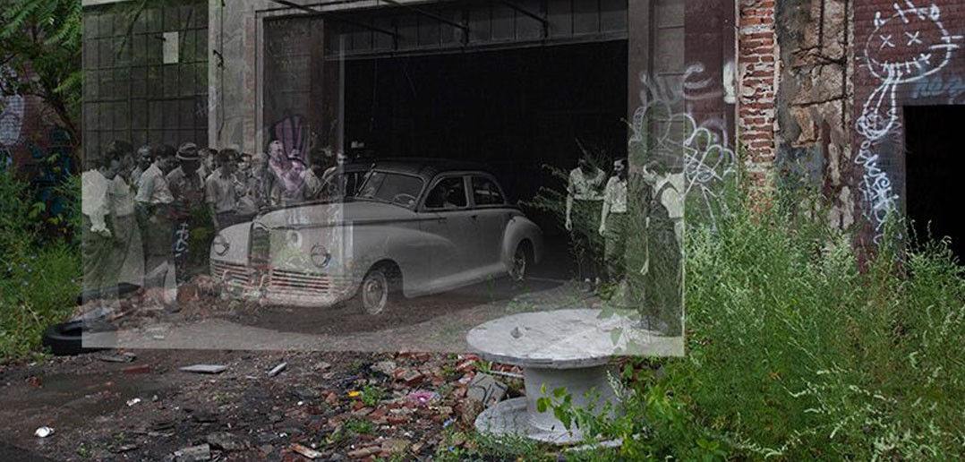 Zakłady Packarda dawniej i dziś (fot. DetroitUrbex)