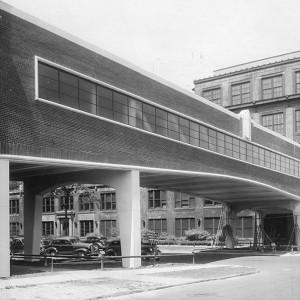 Zakłady Packarda w 1939 roku (fot. DetroitUrbex)
