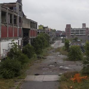 Zakłady Packarda w 2013 roku (fot. DetroitUrbex)