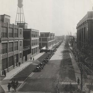 Zakłady Packarda w 1911 roku (fot. DetroitUrbex)