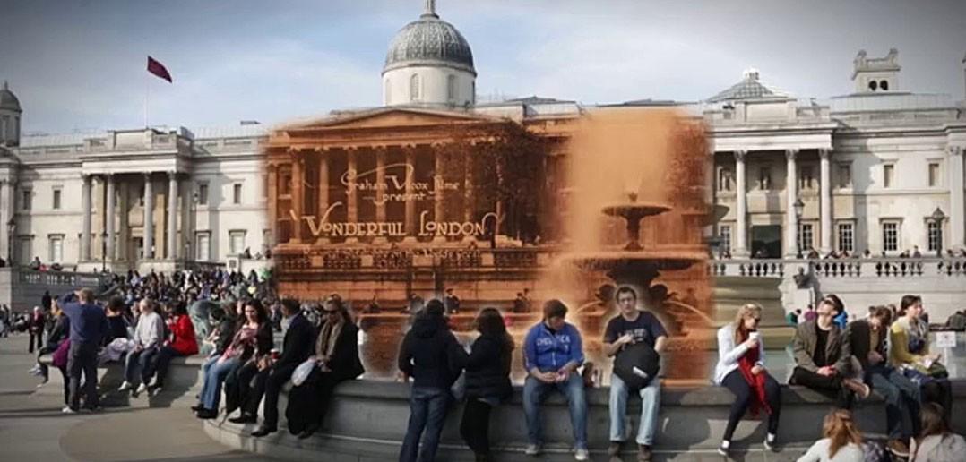 Londyn dawniej i dziś na filmie (fot. Simon Smith)
