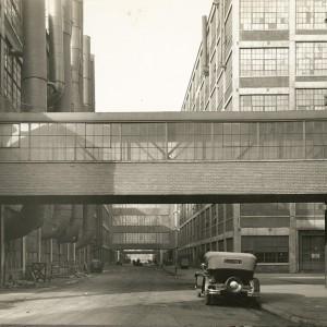 Zakłady Packarda w 1930 roku (fot. DetroitUrbex)