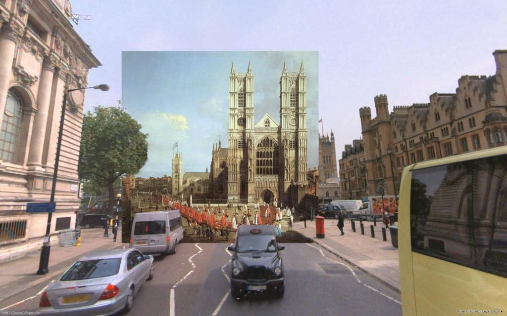 Westminster Abbey (1749) (fot. shystone/Reddit)