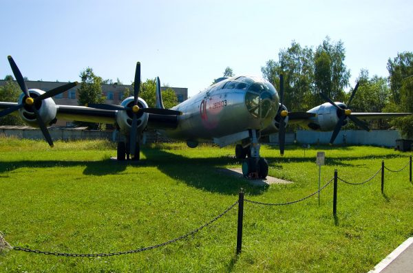 Tupolew Tu-4 współcześnie w muzeum
