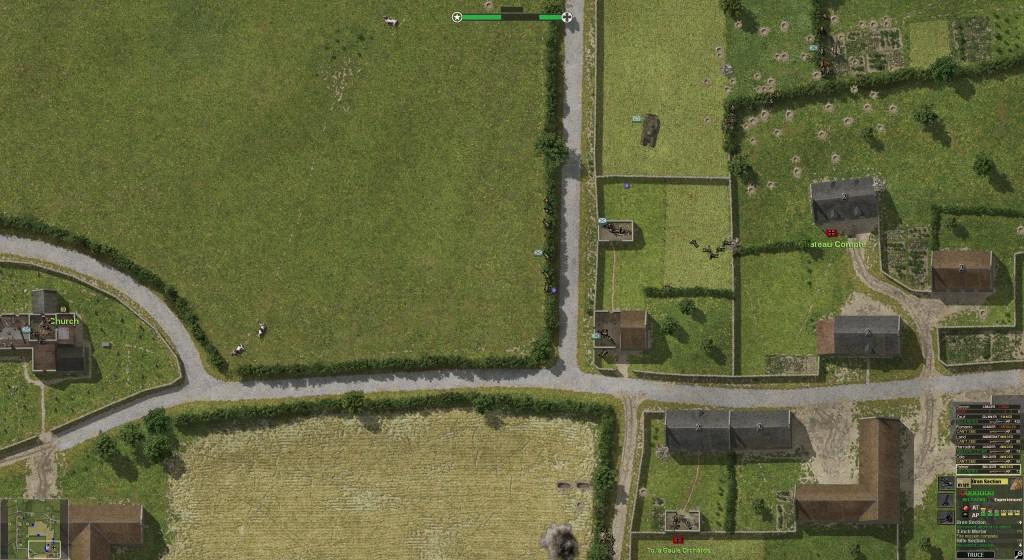 Budynki stanowią dobrą ochronę dla piechoty