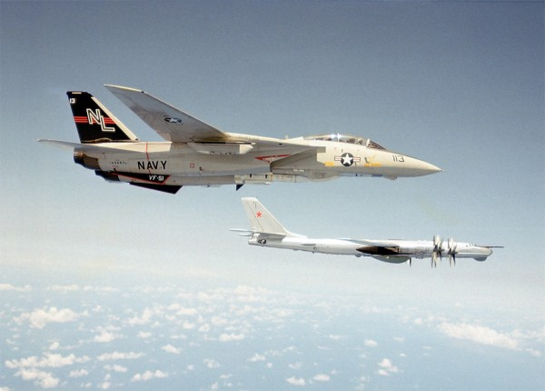 F-14A Tomcat i radziecki Tu-95 - 15 października 1979