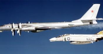 Samoloty NATO przechwytujące maszyny rosyjskie