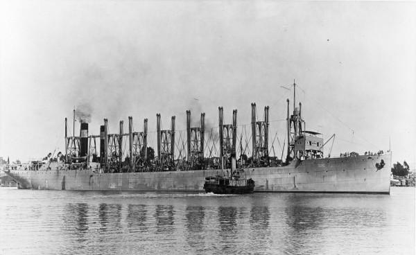 USS Jupiter w 1913 roku jeszcze jako węglowiec