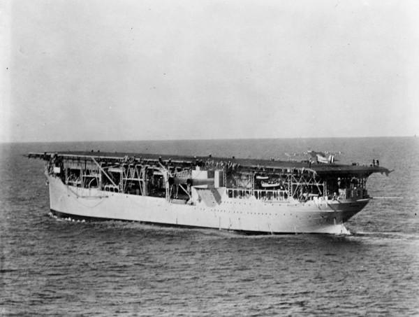 USS Langley w 1922 roku