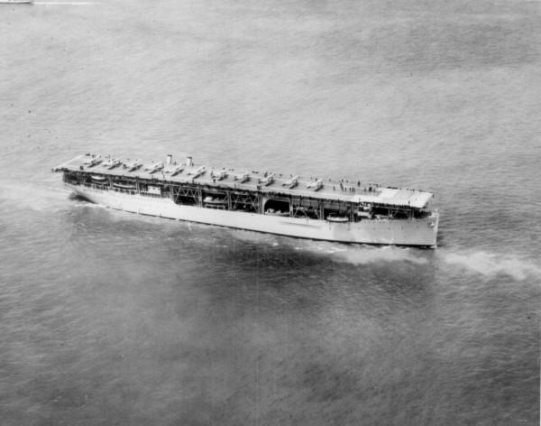 USS Langley w 1927 roku