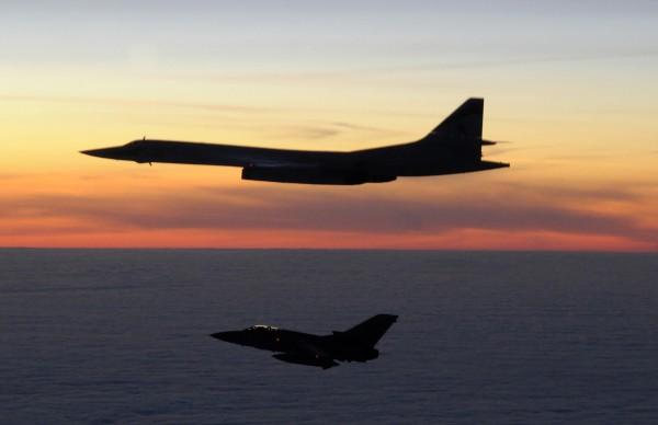 10 marca 2010 roku - brytyjski Tornado F3 i rosyjski Tu-160. W latach 2009-2010 miało miejsce wiele incydentów z udziałem tych samolotów niedaleko Wielkiej Brytanii
