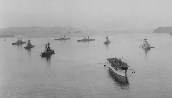 Ponownie USS Langley w Porto Rico w 1926 roku
