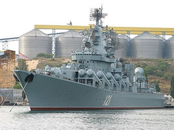 Moskwa - krążownik typu Slava (fot. jeffhead.com)
