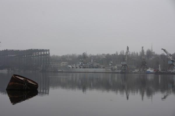 Krążownik rakietowy Ukraina (fot. grahamwphillips.com)
