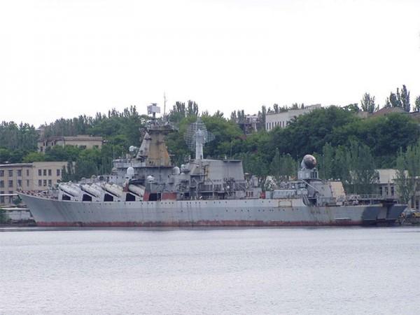 Krążownik rakietowy Ukraina (fot. sevastopol.info)