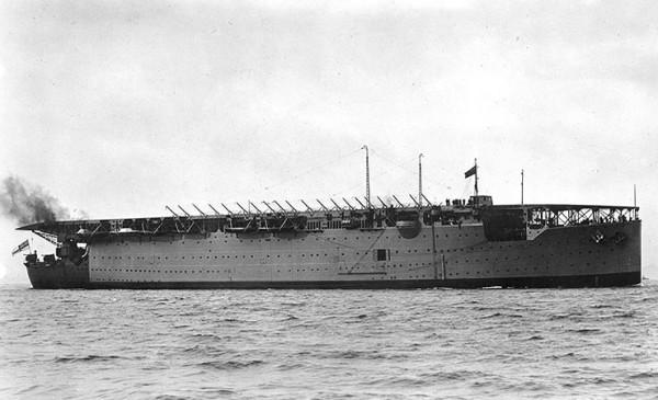 HMS Argus pod koniec lat 20-tych