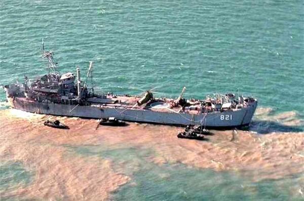 USS Harnett County w Wietnamie
