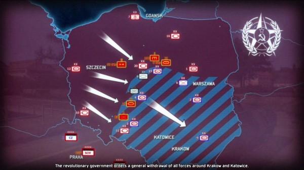 Walka z kontrrewolucją w Polsce.