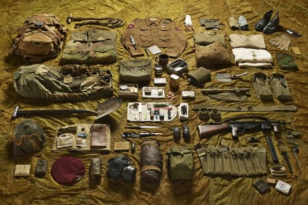 Kapral, spadochroniarz, bitwa pod Arnhem, 1944 rok (fot. Thom Atkinson)
