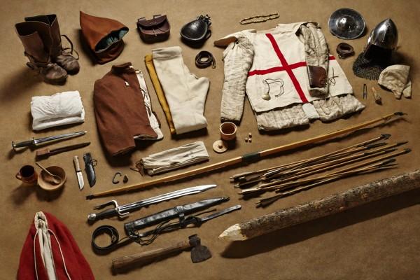 Łucznik, bitwa pod Agincourt, 1415 rok (fot. Thom Atkinson)