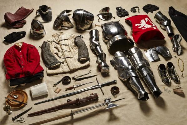 Rycerz, bitwa pod Bosworth, 1485 rok (fot. Thom Atkinson)