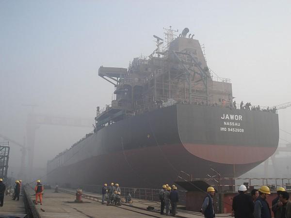 Masowiec Jawor w chińskiej stoczni