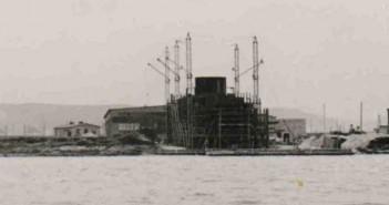 Drobnicowiec Olza podczas budowy (fot. zabytki.ocalicodzapomnienia.eu)