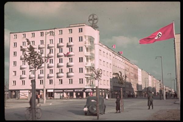 Gdynia po zdobyciu przez niemców (fot. Hugo Jaeger)