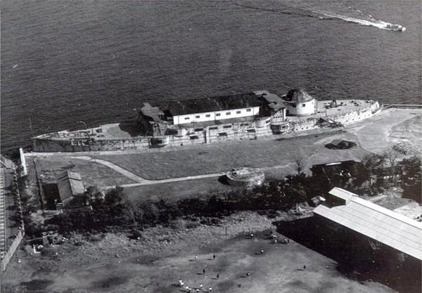 Mikasa w latach 50. przed odbudową